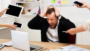 Por ley las empresas deben tener plan contra el estrés