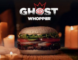 Ghost Whopper, nueva hamburguesa de Burger King para Halloween 2019