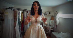 Lizbeth Rodríguez se prueba vestido de novia ¿Se va a casar?