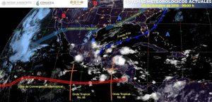 Frente frío 6 provocará bajas temperaturas en norte, noreste, oriente y centro de México