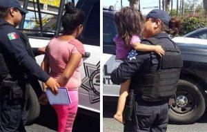 Intenta tirar a su bebé de puente en Monterrey