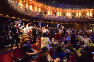 Ciudadanía festeja al Palacio de Bellas Artes en su 85 aniversario