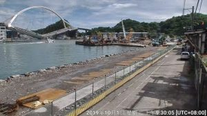 Colapsa un puente en Taiwán: al menos 20 heridos