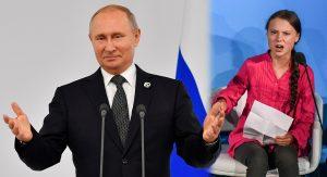 Nadie le ha explicado a Greta que el mundo es complejo: Putin