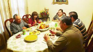 Une Acción de Gracias a las   familias de NLD