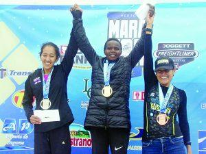 El keniano George Kipketener y Eveline Byanmu se imponen en el Medio Medio Maratón Palos Garza