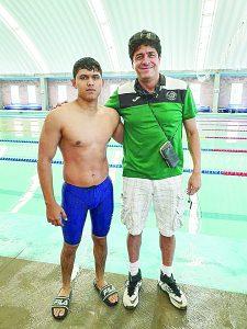 Va fronterizo por presea a Nacional de natación