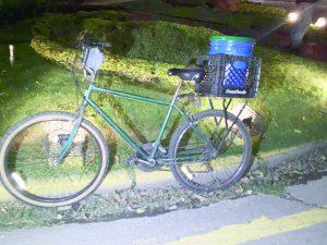 Sufre ciclista lesiones leves