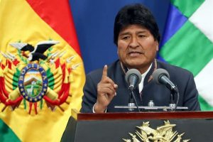 Renuncia Evo Morales a Presidencia