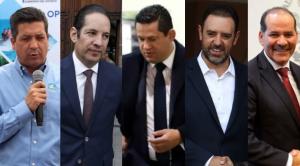 Hay cinco gobernadores que ganan más que AMLO