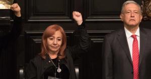 AMLO declara que es un acto de justicia la designación de Rosario Piedra Ibarra en la CNDH