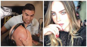 """""""Está bien crazy la morra"""": Lupillo Rivera exhibe mensajes de voz que le envía Belinda (VIDEO)"""