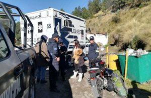 Secuestran a dos turistas franceses en el nevado de Toluca