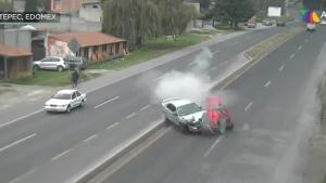 VIDEO del fatal accidente en Edomex