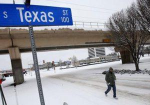 Pronostican temperaturas congelantes para el centro y sur de Texas