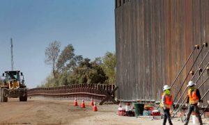 Transmitirán construcción de muro fronterizo en vivo las 24 horas