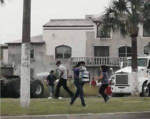 Captan rapiña de cerveza en Matamoros