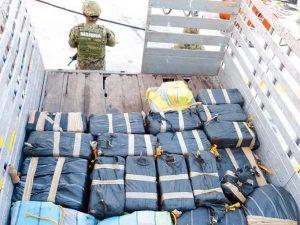 Incauta Semar más de 120 kilos de cocaína en Altamira