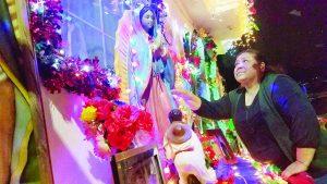 Homenajean a la Virgen desde casa en Infonavit