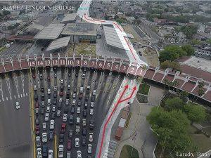 Habilitan 7 casetas para cruces fronterizos