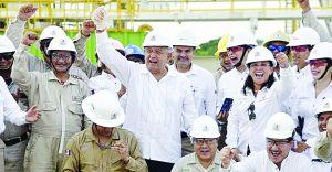 Crudo y litio crecen riqueza de México