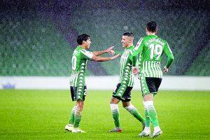 Anota Lainez golazo en Copa del Rey