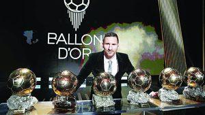 Lionel Messi es elegido por sexta vez como el mejor futbolista del año; ya prevé el retiro