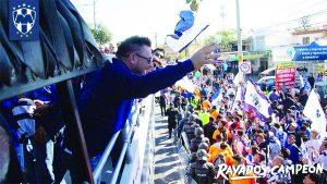 Los Rayados de Monterrey festejan con su quinta estrella en su historia