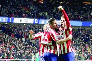 El Atlético de Madrid derrota al Lokomotiv para consumar su pase a octavos de Champions League