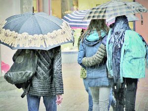 Arrancará el año nuevo con lluvias