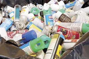 Realizan colecta de  productos peligrosos