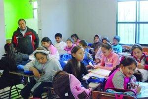 Sin terreno ni aulas para Escuela Unitaria