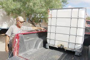 Buscan reactivar  una noria de agua en Laredo