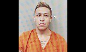 Liberan en Laredo a sujeto con 39 arrestos previos