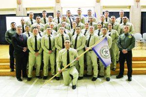 Terminan 32 cadetes B-19  entrenamiento