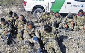 Capturan a migrantes 'camuflados'; quinto caso en dos meses