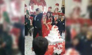 VIDEO: Novio enfurece en plena boda frente a todos sus invitados