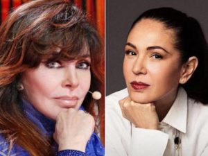 Filtran fotos de Yolanda Andrade y Verónica Castro besándose