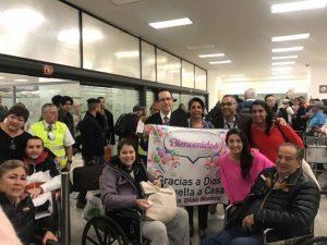 Regresan mexicanos heridos durante ataque en Jordania