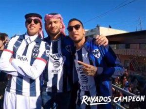 VIDEO: Rayados celebran su quinto título con la afición