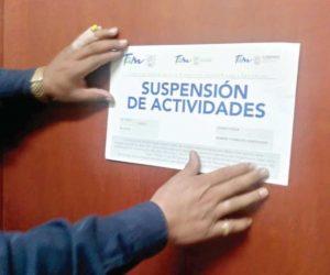 Suspende Coepris 114 negocios en Tamaulipas