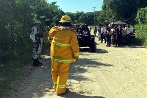 Evacuan por fuga en gasoducto en Veracruz