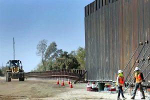 Va Trump por tierra privada en frontera