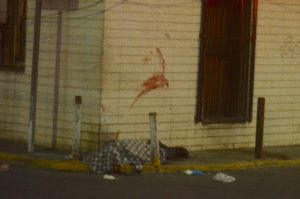Mata a hombre a 'machetazos' en el Centro y huye