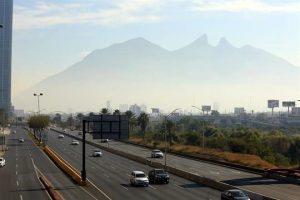Persiste mala calidad del aire en Monterrey