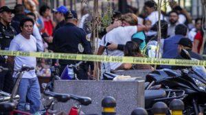 Cinco muertos tras balacera en el Centro Histórico de CDMX