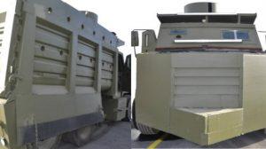 Decomisan en dos tanques blindados al CJNG en Jalisco