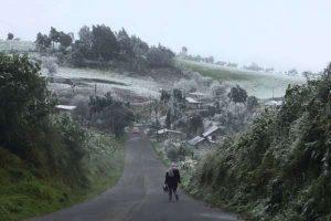 Hasta -14 grados registran en Durango