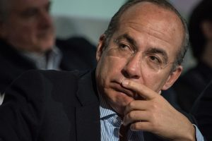 """Dice Calderón que """"desconocía los hechos"""" de los que se acusa a García Luna"""