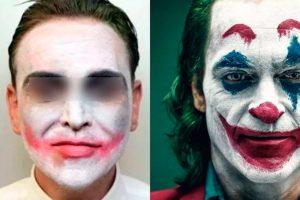 Disfrazado del Joker golpea a su ex porque lo dejó